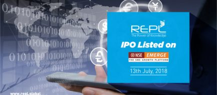 REPL IPO - Listed on NSE Emerge