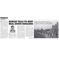 Financial Chronicle - Budget