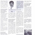 Project Reporter June 2012-Expert Speaks on Automted Car Parking by Mr.Pradeep Misra-CMD REPL