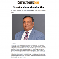 Smart & Sustainable Cities - Construction Week Online - Dr. Harish Sharma