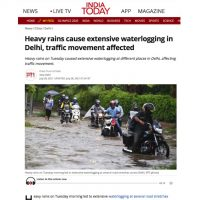 Thumbnail - India Today - Waterlogging in Delhi - 28th July 2021