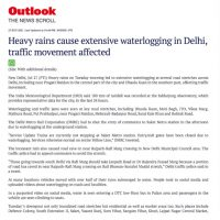 Thumbnail - Outlook India - Waterlogging in Delhi - 27th July 2021